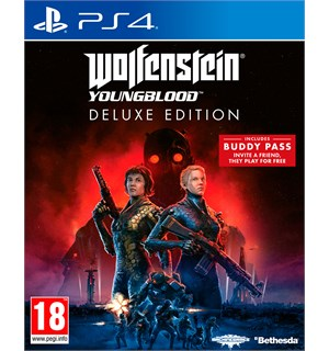 Wolfenstein Youngblood Deluxe PS4 Deluxe Edition m/ pre-order bonus