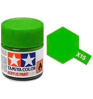 Akrylmaling MINI X-15 Light Green Tamiya 81515 - 10ml