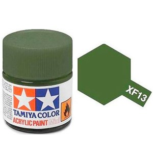 Akrylmaling MINI XF-13 JA Green Tamiya 81713 - 10 ml