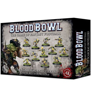 Blood Bowl Team Scarcrag Snivellers Goblin Blood Bowl Team
