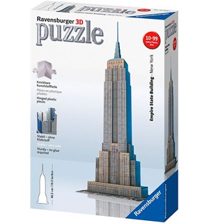 Empire State 3D 216 biter Puslespill Ravensburger Puzzle