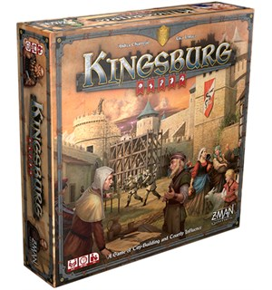 Kingsburg Brettspill Second Edition