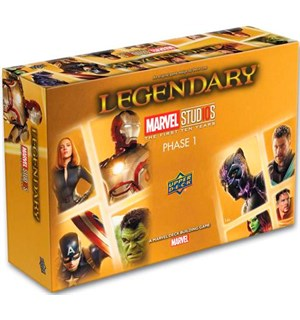 Legendary Marvel 10th Anniv Brettspill Marvel Deck Building Game Anniversary Ed