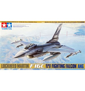Lockheed F16C Block 25/32 Fighting Falco Tamiya 1:48 Byggesett