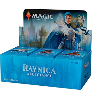Magic Ravnica Allegiance Display 36 pakker á 15 kort per pakke