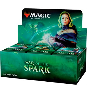 Magic War of the Spark Display 36 pakker á 15 kort per pakke