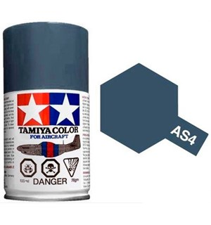Tamiya Airspray AS-4 Gray Violet Tamiya 86504 - 100ml