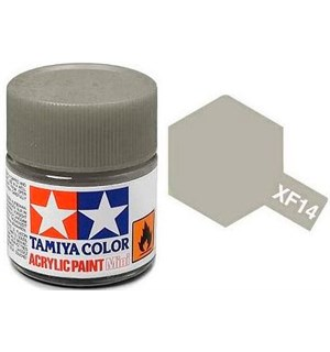 Akrylmaling MINI XF-14 JA Grey Tamiya 81714 - 10ml