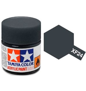 Akrylmaling MINI XF-24 Dark Grey Tamiya 81724 - 10ml