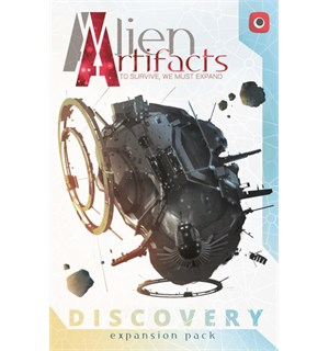 Alien Artifacts Discovery Expansion Utvidelse til Alien Artifacts