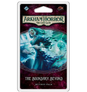 Arkham Horror TCG Boundary Beyond Exp Utvidelse til Arkham Horror Card Game