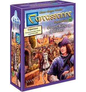 Carcassonne Count King & Robber Exp Utvidelse nr 6 til Carcassonne