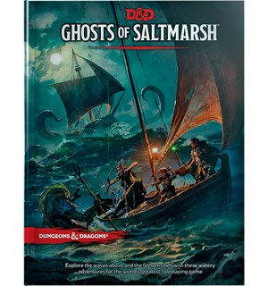 D&D Adventure Ghosts of Saltmarsh Dungeons & Dragons Scenario Level 1-12