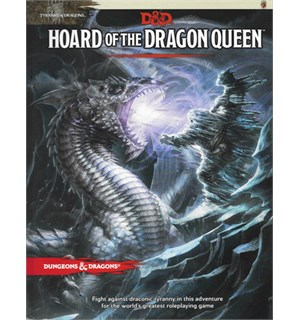 D&D Adventure Hoard of the Dragon Queen Dungeons & Dragons Scenario Level 1-7