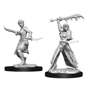 D&D Figur Nolzur Human Rogue Female Nolzur's Marvelous Minitaures - Umalt