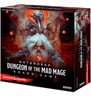 D&D Waterdeep Mad Mage Brettspill Dungeons & Dragons