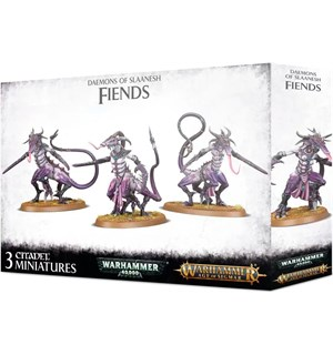 Daemons of Slaanesh Fiends Warhammer 40K / Age of Sigmar
