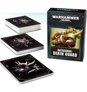 Death Guard Datacards Warhammer 40K
