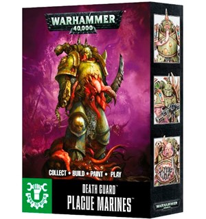 Death Guard Plague Marines (ETB) Warhammer 40K Easy to Build