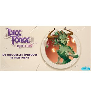 Dice Forge Rebellion Expansion Utvidelse til Dice Forge