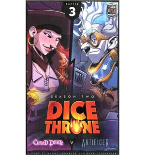 Dice Throne Season 2 Battle Box 3 Cursed Pirate vs Artificer