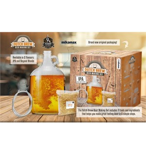 Dutch Brew Beer Making Set - IPA Brygg øl selv hjemme