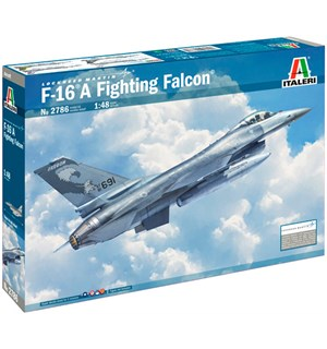 F-16 A Fighting Falcon Italeri 1:48 Byggesett