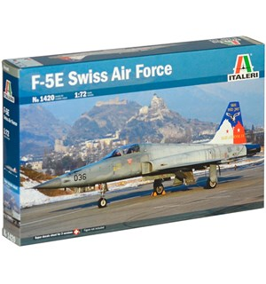 F-5E Swiss Air Force Italeri 1:72 Byggesett