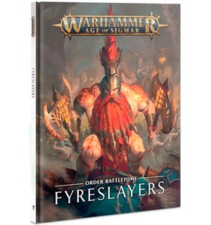 Fyreslayers Battletome Warhammer Age of Sigmar