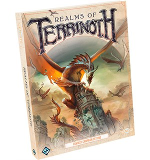 Genesys Terrinoth Realm of Terrinoth Bok Fantasy Campaign Setting