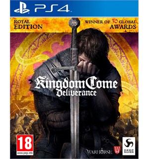 Kingdom Come Deliverance Royal Ed PS4 Royal Edition - Game of the Year Ed.