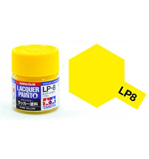 Lakkmaling LP-8 Pure Yellow Tamiya 82108 - 10ml