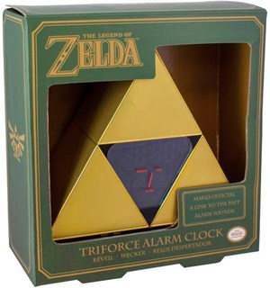 Legend of Zelda Vekkerklokke Triforce