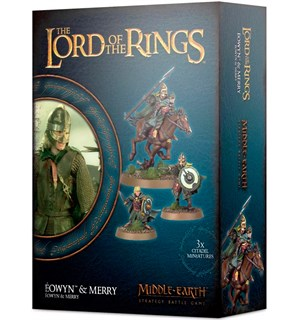 Lord of the Rings Eowyn & Merry Middle-Earth Strategy Battle Game