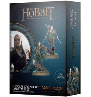 Lord of the Rings Legolas/Tauriel Middle-Earth Strategy Battle Game