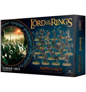 Lord of the Rings Mordor Orcs Middle-Earth Strategy Battle Game