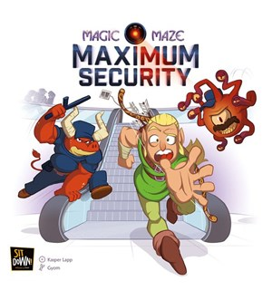 Magic Maze Maximum Security Expansion Utvidelse til Magic Maze