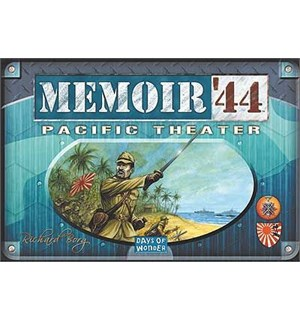 Memoir 44 Pacific Theater Expansion Utvidelse til Memoir 44