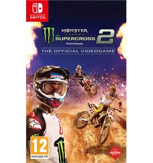 Monster Energy Supercross 2 Switch The Official Videogame