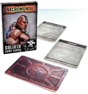 Necromunda Cards Goliath Gang