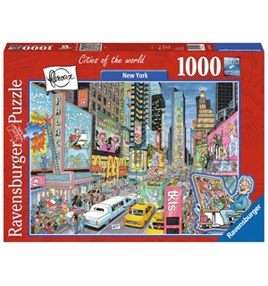 New York 1000 biter Puslespill Ravensburger Puzzle