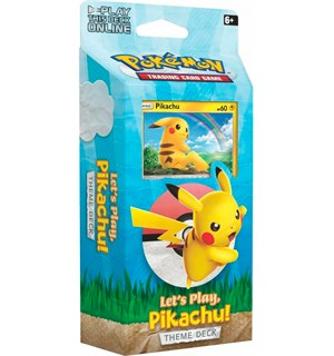 Pokemon Lets Play Pikachu Theme Deck