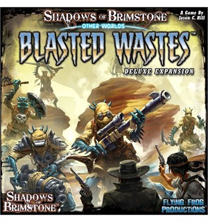 Shadows of Brimstone Blasted Wastes Exp Utvidelse til Shadows of Brimstone