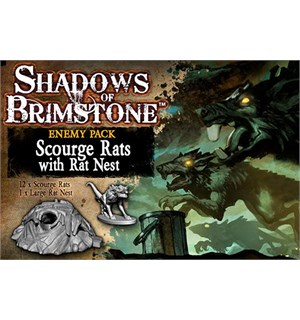 Shadows of Brimstone Scourge Rats Exp Utvidelse til Shadows of Brimstone