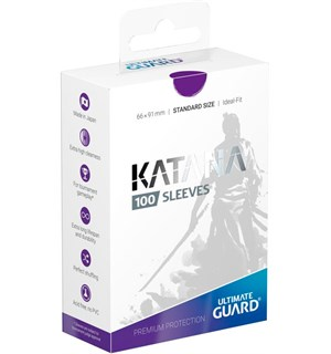 Sleeves Katana Lilla 100 stk 66x91 Ultimate Guard Kortbeskytter/DeckProtect