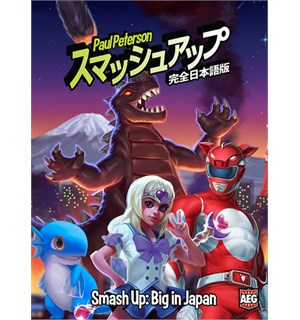 Smash Up Big In Japan Expansion Utvidelse til Smash Up