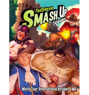 Smash Up International Incident Exp World Tour - Utvidelse til Smash Up