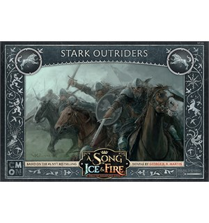 Song of Ice & Fire Stark Outriders Exp Utvidelse til A Song of Ice & Fire