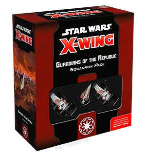 Star Wars X-Wing Guardians of Republic Utvidelse til Star Wars X-Wing 2nd Ed
