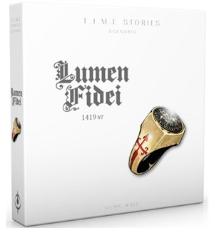 TIME Stories Lumen Fidei Expansion Utvidelse til TIME Stories
